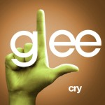 glee cry cover