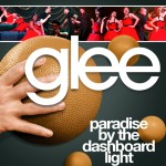 glee paradise by the dashboard light cover