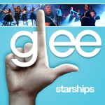 glee starships cover