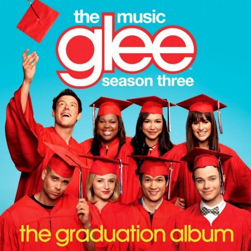 glee the graduation album cover