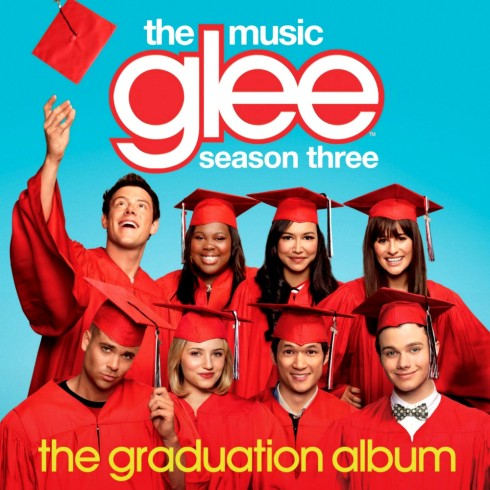 glee the graduation album cover