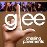 glee chasing pavements cover