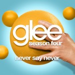 glee never say never cover