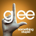 glee something stupid cover