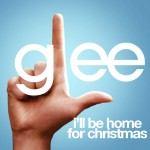 glee i'll be home for christmas cover