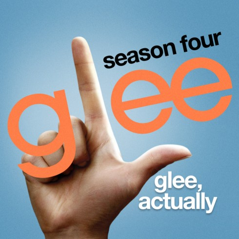 glee glee, actually cover