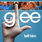 glee tell him cover