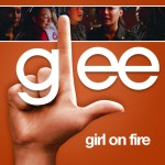 glee girl on fire cover