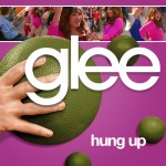 glee hung up cover