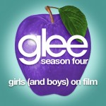 glee girls (and boys) on film cover