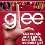 glee diamonds are a girl's best friend / material girl cover