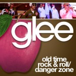 glee old time rock & roll / danger zone cover