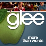 glee more than words cover