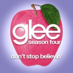 glee don't stop believin' cover
