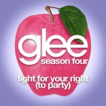 glee fight for your right (to party) cover