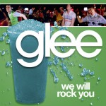 glee we will rock you cover