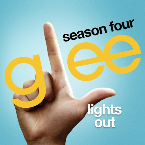 glee lights out cover