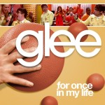 glee for once in my life cover