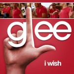 glee i wish cover