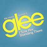 glee i saw her standing there cover