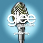 glee yesterday cover