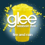 glee fire and rain cover