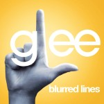 glee blurred lines cover