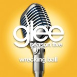 glee wrecking ball cover