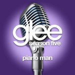 glee piano man cover