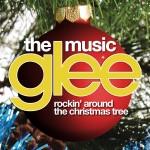 glee rockin' around the cristmas tree cover