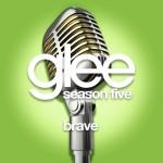 glee brave cover