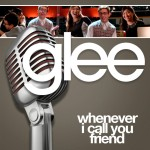 glee whenever i call you friend cover