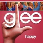 glee happy cover