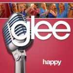 glee happy cover