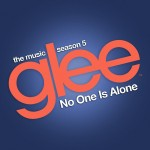 glee no one is alone cover