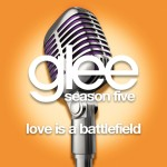 glee love is a battlefield cover