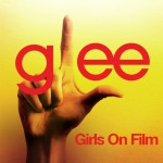 glee girls on film cover
