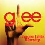 glee jagged little tapestry cover