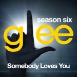 glee somebody loves you cover