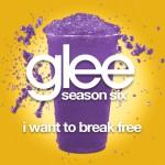glee i want to break free cover