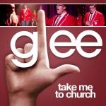 glee take me to church cover